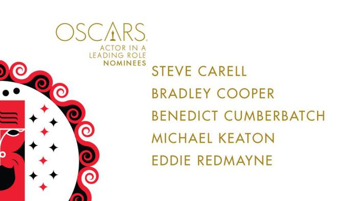 oscar noms for Actors in Leading Role 2015