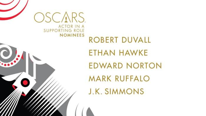 oscar noms for Actors in Supporting Role 2015
