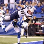 patriots gronkowski jump over colts for win 2015
