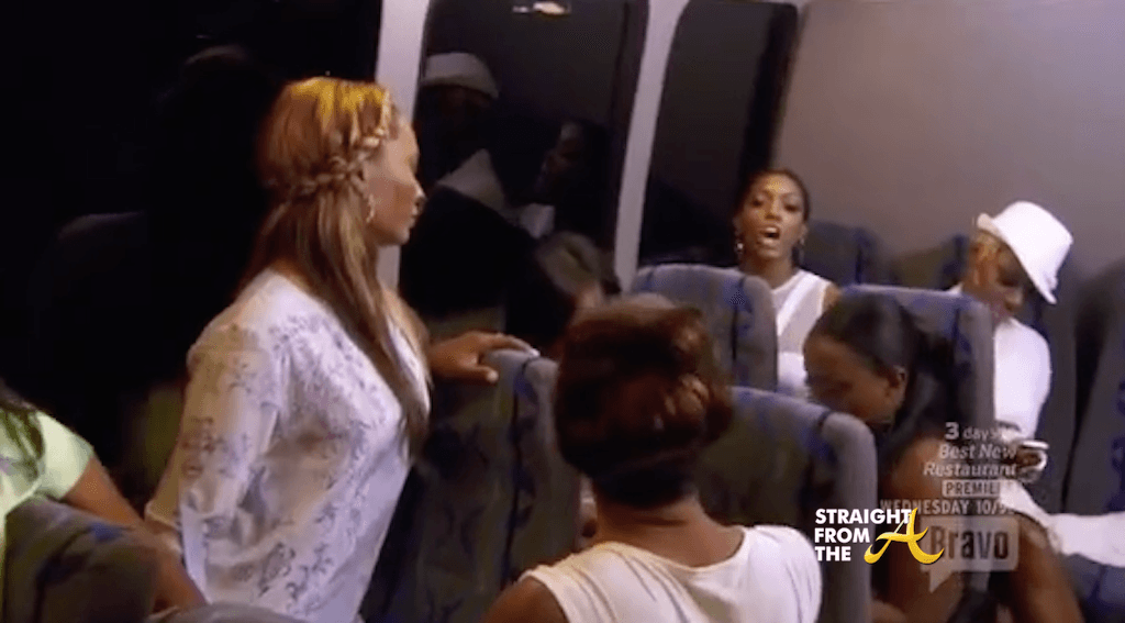 porsha calls claudia contradictory on real housewives of atlanta 2015 ep 11