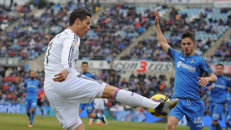 real madrid cristiano ronaldo bulge for la liga soccer 2015