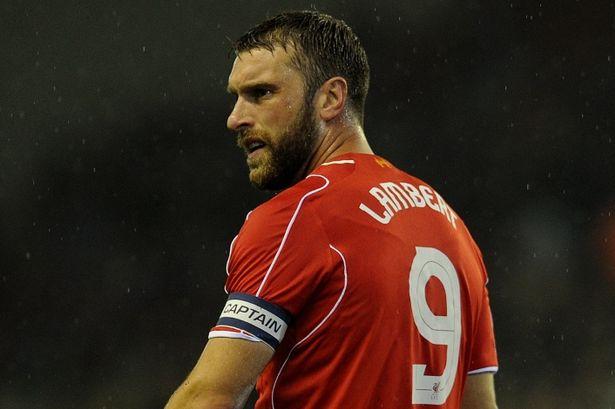 rickie lambert bulge signed to liverpool soccer league 2014 images