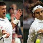 roger federer vs novack djokovic bulge tennis 2014 images
