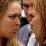ronda rousey death stare ufc mma images 2015