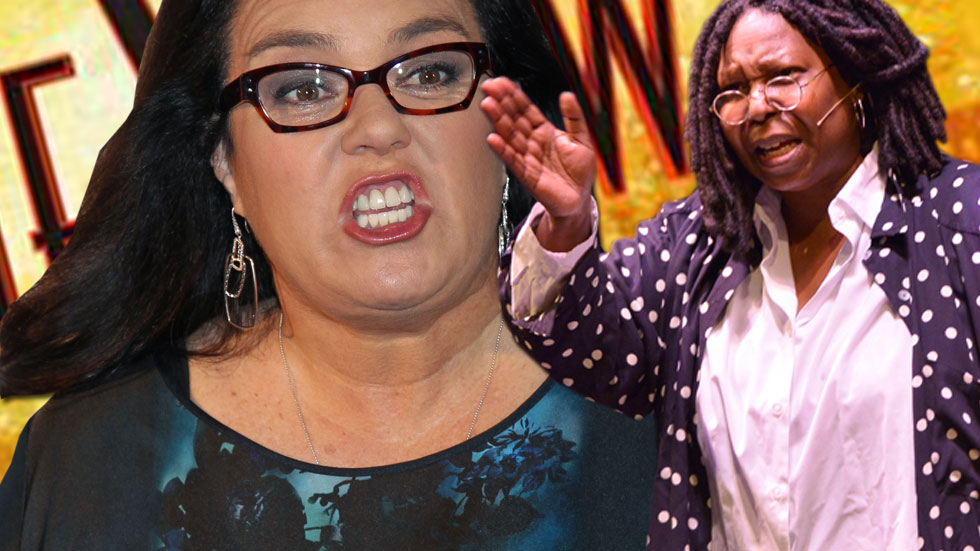 Stress Helped Get Rosie O'Donnell To Leave THE VIEW Again