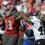 saints versus buccaneers 2015 nfl images playoffs