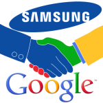 samsung partnered with google for android going after apple and microsoft 2015