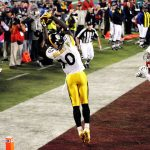 santonio holmes end zone snag most amazing super bowl moments in history 2015