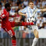 sevilla vs malaga la liga soccer bulge images 2015