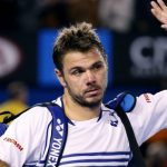 stan wawrinka waving bye to novak djokovic after losing australian open 2015