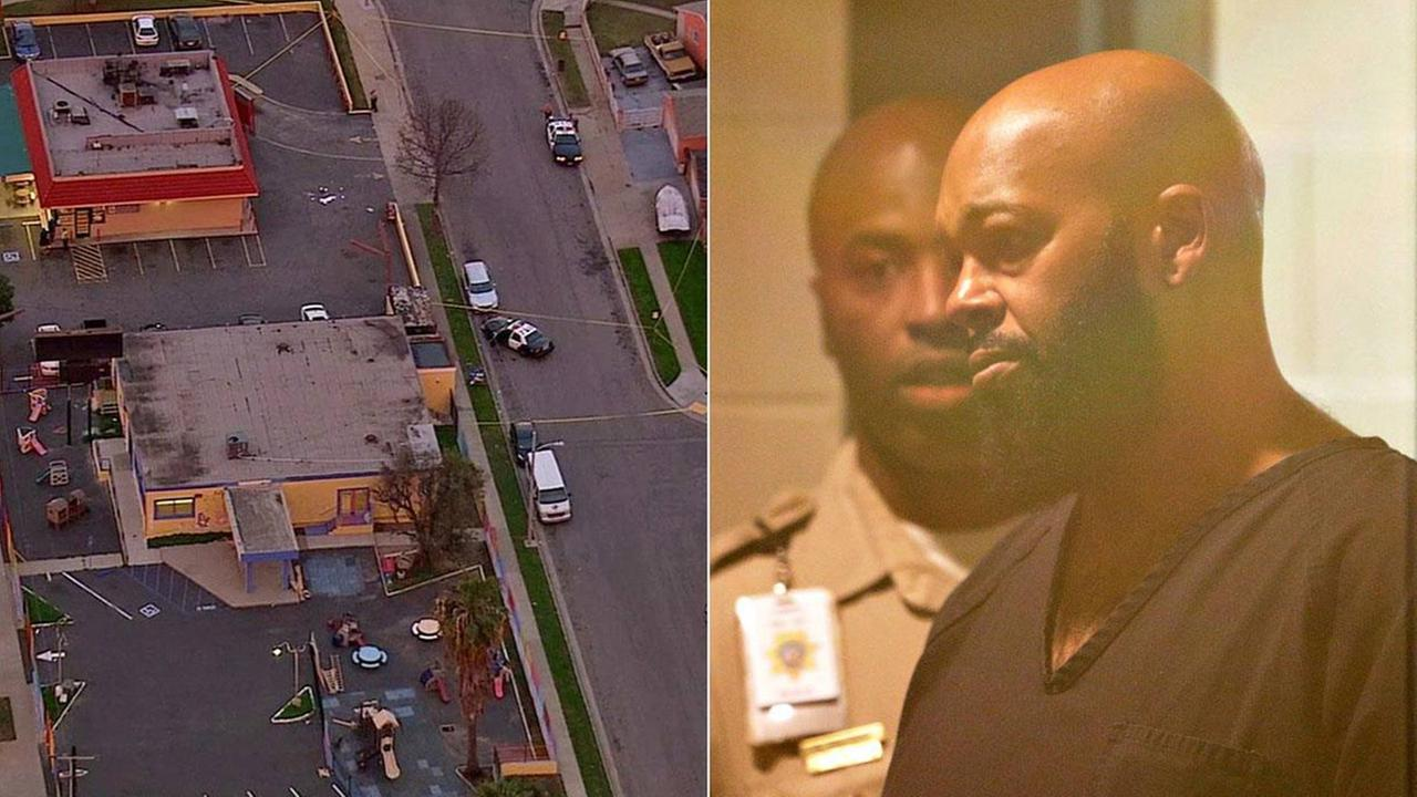 suge knight arrest in hit and run murder 2015 images