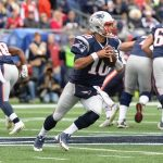 tom brady passing bulge to rob gronkowski patriots beat ravens 2015 nfl