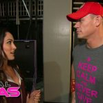 total divas brie talking up john cena bulge 2015 images wwe