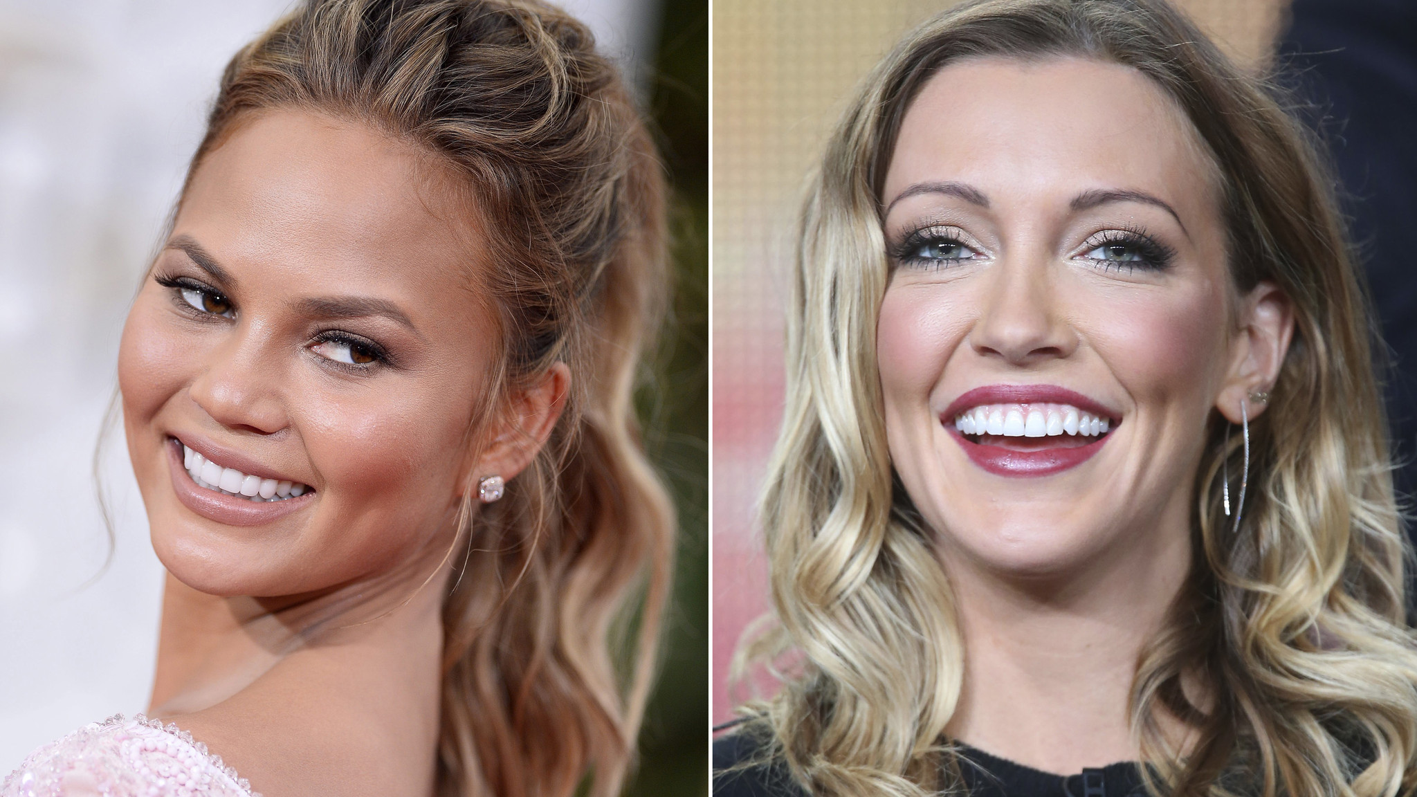 twitter feud for katie cassidy with chrissy teigen