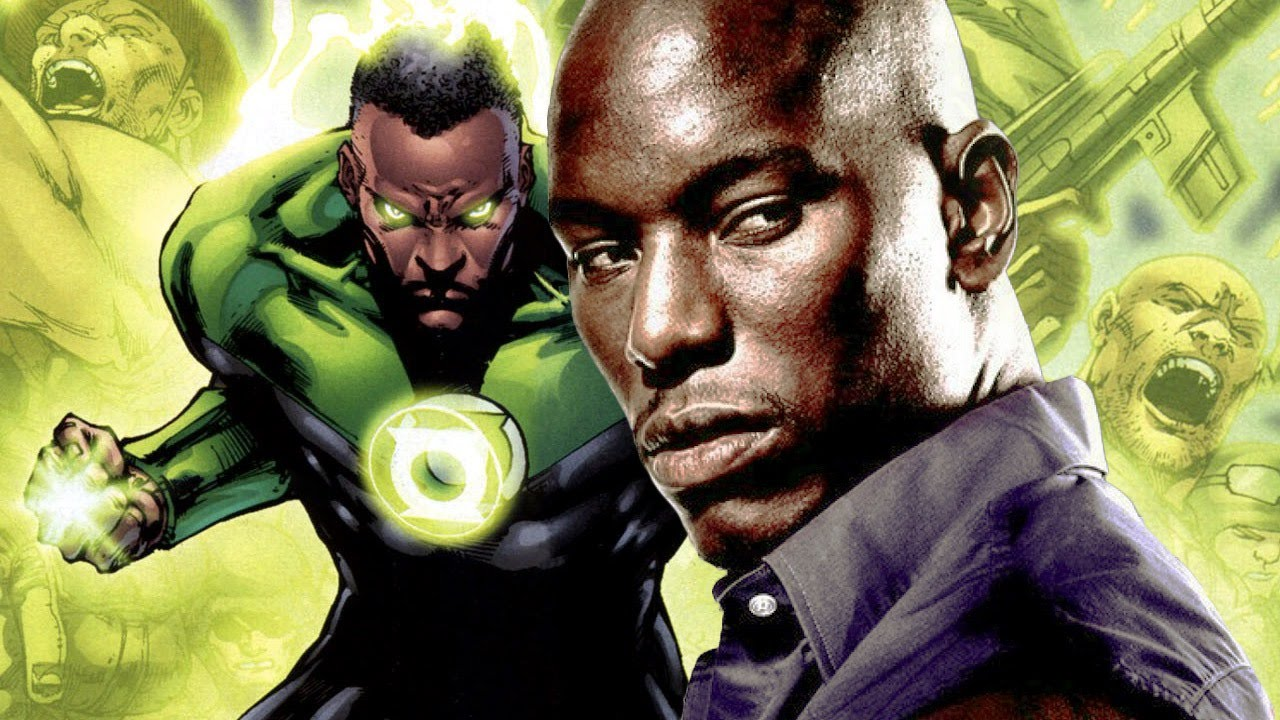 tyrese gibson not ignored for green lantern movie role