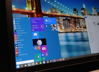 windows 10 start menu images 2015