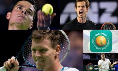 2015 ABN Amro World Tennis Tournament Quarter Finals Recap
