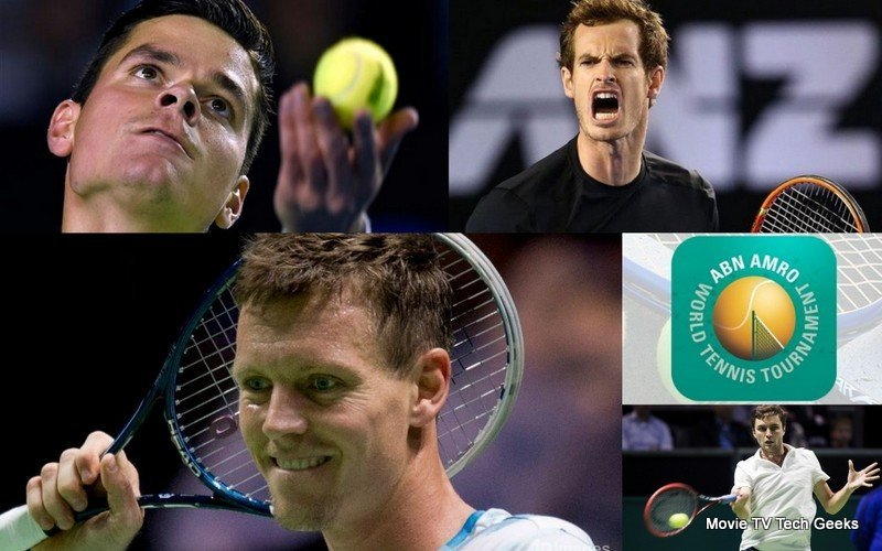 2015 ABN Amro World Tennis Tournament Quarter Finals Recap