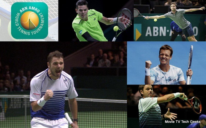 ABN Amro World Tennis Tournament Semi Finals Recap 2015