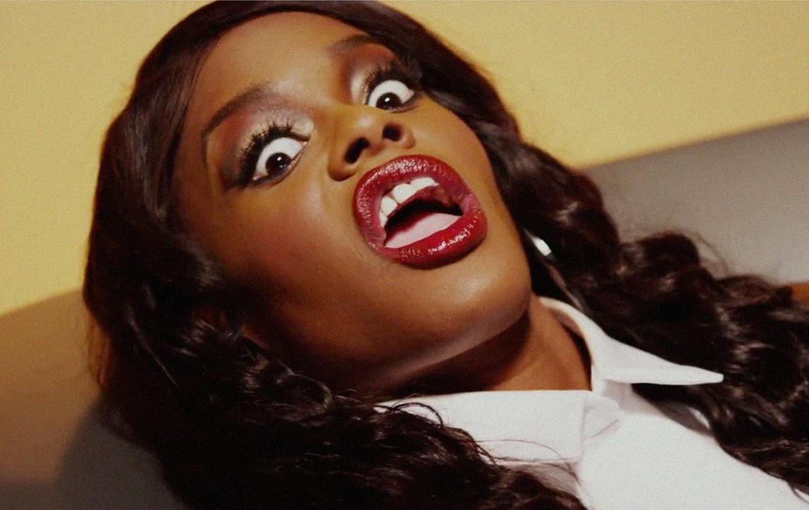 Azealia Banks saying men dont like dark skin 2015