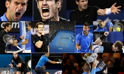 Novak Djokovic Makes History Defeating Andy Murray at Australian OpenNovak Djokovic Makes History Defeating Andy Murray at Australian Open