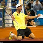 pablo cuevas wins to semi finals brasil atp tennis open 2015 images