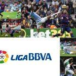 Spanish La Liga Soccer Game Week 24 Real Madrid On Top