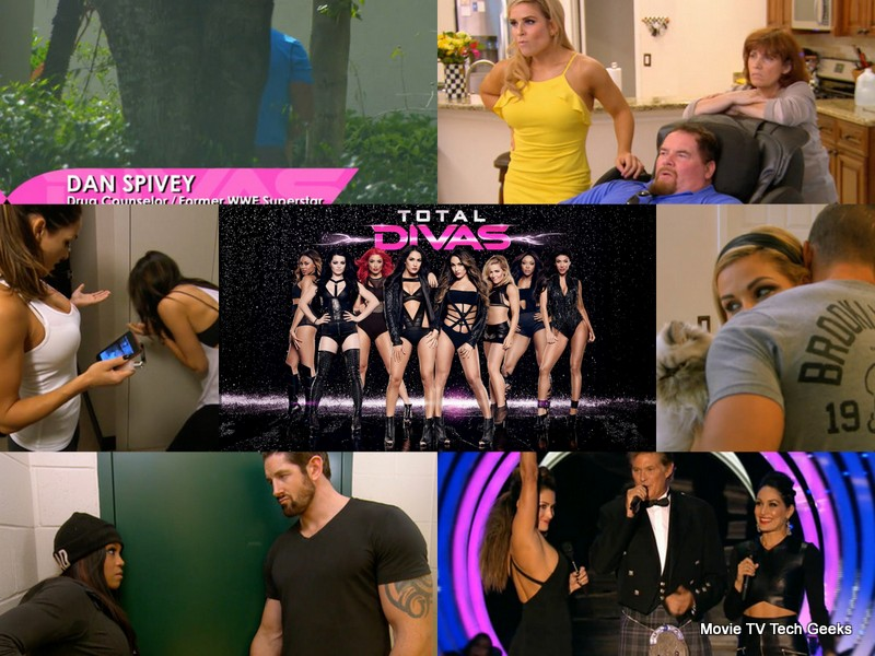 TOTAL DIVAS Season 3 Brie Mode & Natties Dad