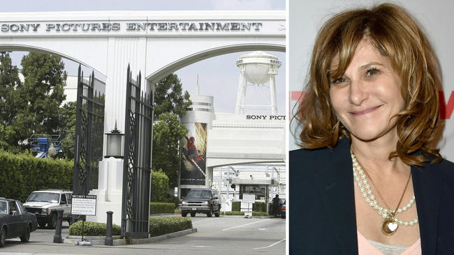 amy pascal a fixture at sony pictures now gone 2015