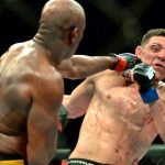 anderson silva slams nick diaz face ufc 183 2015 iamges