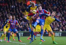 arsenal beats off crystal palace bare soccer back premier league 2015