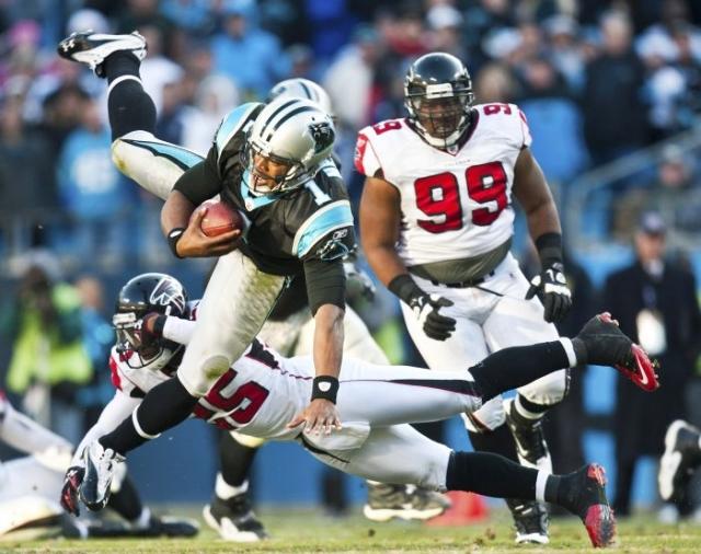 atlanta falcons lost to carolina panthers game 2015