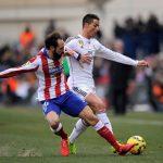 atletico madrid vs real madrid cristiano ronaldo back from ban 2015 la liga