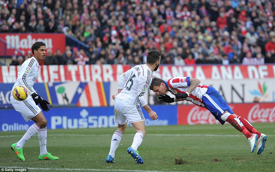 atletico madrid vs real madrid head la liga work soccer 2015