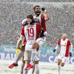 augsburg defeats hoffenheim man german soccer 2015 bulge