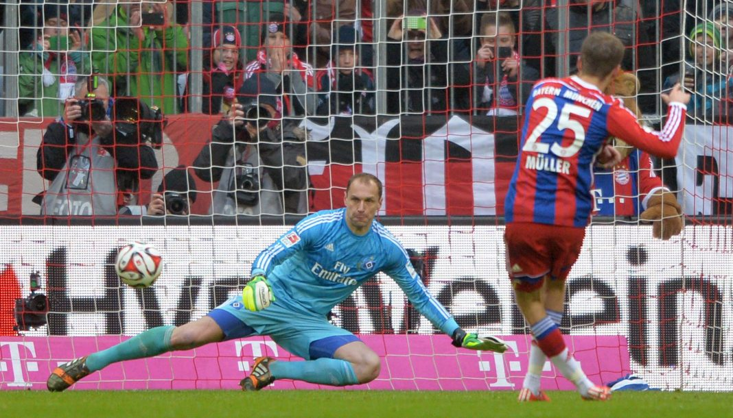 bayern munich beats hamburger sv soccer 2015 images
