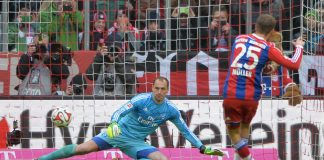 bayern munich beats hamburger sv soccer 2015 images