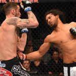 benson henderson slams side of brandon thatch ufc fight night 60 2015