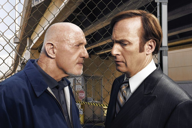 better call saul mike ehrmantraut shake down paybooth 2015
