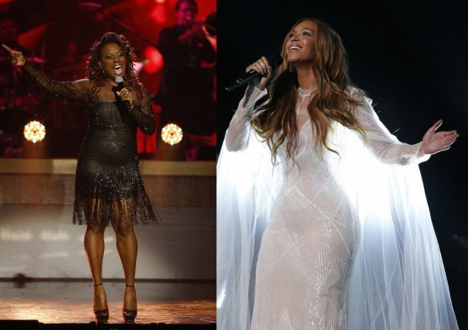 beyonce bounces out ledisi at grammys 2015
