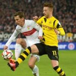 borussia dortmund takes three soccer wins 2015 images