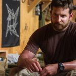bradley cooper as chris kyle fraud in american sniper movie 2015