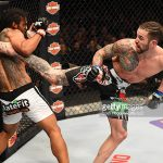 brandon thatch kicks up benson henderson ufc fight night 60 2015