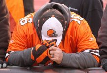 cleveland brown fans plight as teams problems mount 2015