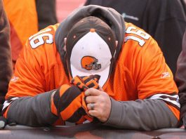 cleveland brown fans plight as teams problems mount 2015