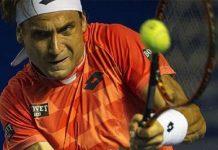 david ferrer grunting hard for ryan harrison ball atp acapulco 2015