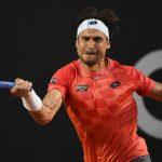 david ferrer slamming back ball for fabio fognini win rio open 2015