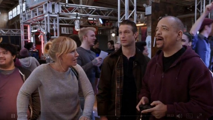 finn gets gamergate on for law and order svu 2015 images