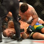 frank mir bottomed out for bigfoot ufc 2015