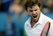 gilles simon defeats sergiy stakhovsky for gael monfils atp marseille tennis 2015